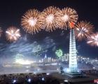 Triều Tiên bắn pháo hoa hoành tráng, đẹp mắt chào mừng Đại hội Đảng