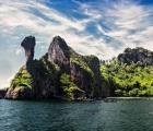 Hòn đảo hình con gà ở Thái Lan