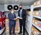 Việt Nam nhận 415.000 liều vaccine phòng COVID-19 do Chính phủ Anh trao tặng