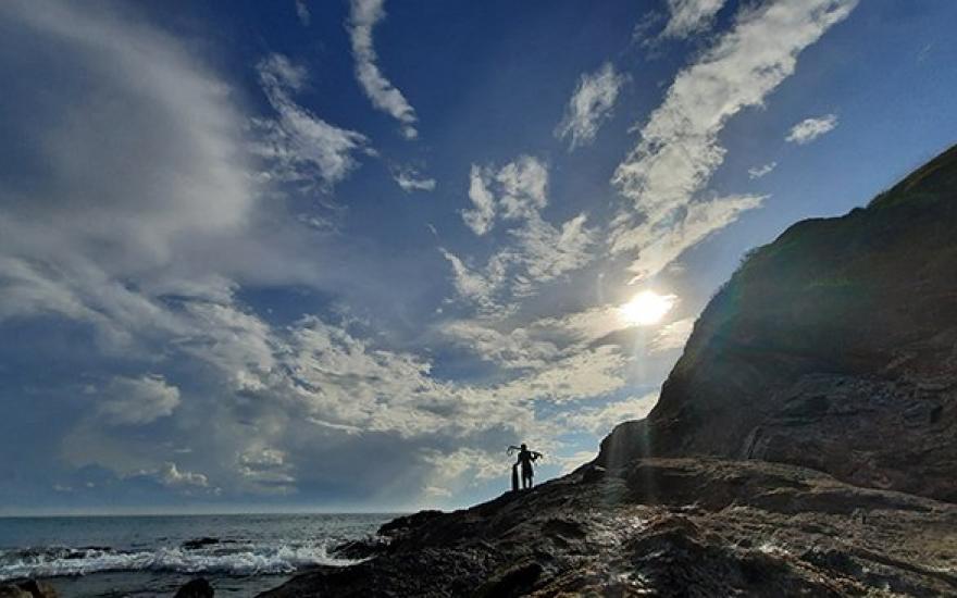 Ghềnh đá Hoài Hải, Bình Định, gềnh đá, thiên nhiên kì vĩ, ghềnh đá, du lịch Bình Định,