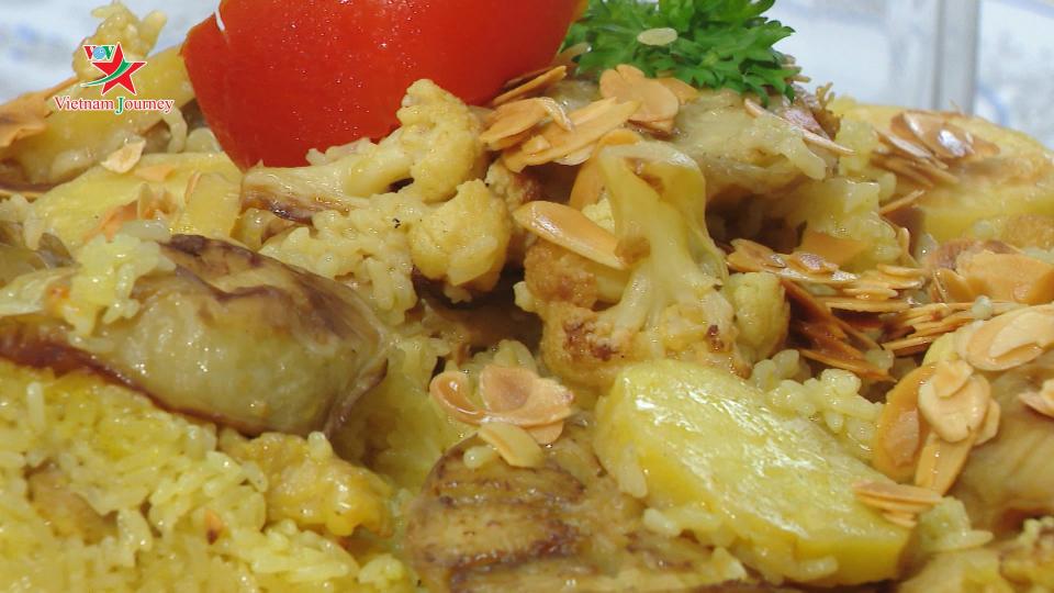 [Ẩm thực Tết bốn phương] Maqluba - Món ăn ngày Tết ở Palestine