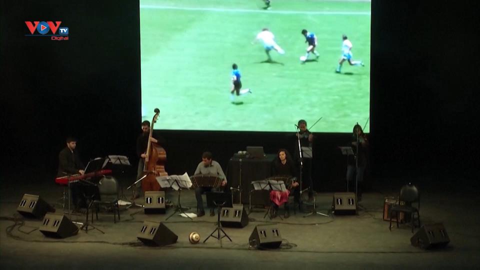 Buổi hòa nhạc tri ân huyền thoại bóng đá Maradona