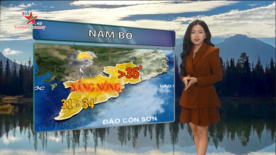 Dự báo thời tiết 04/04/2019
