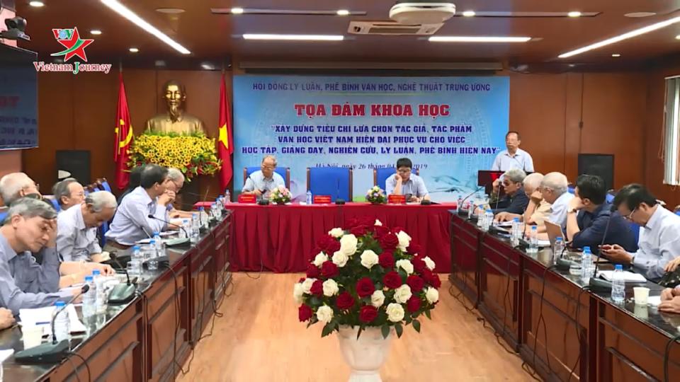 Hướng tới xây dựng hệ thống danh mục quốc gia về tác giả, tác phẩm văn học Việt Nam hiện đại