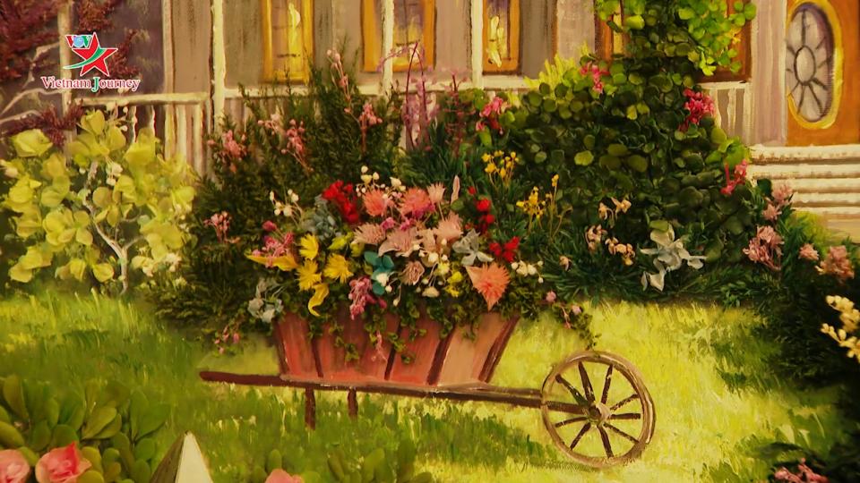 Nghệ thuật ướp hoa tươi