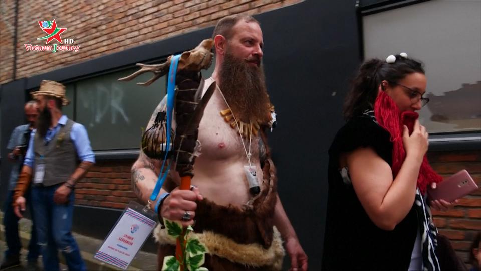 Thú vị cuộc thi râu tại Pháp