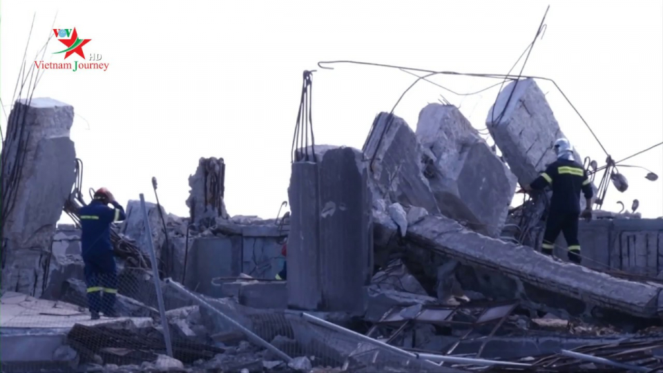Động đất làm rung chuyển thành phố du lịch Athens của Hy Lạp