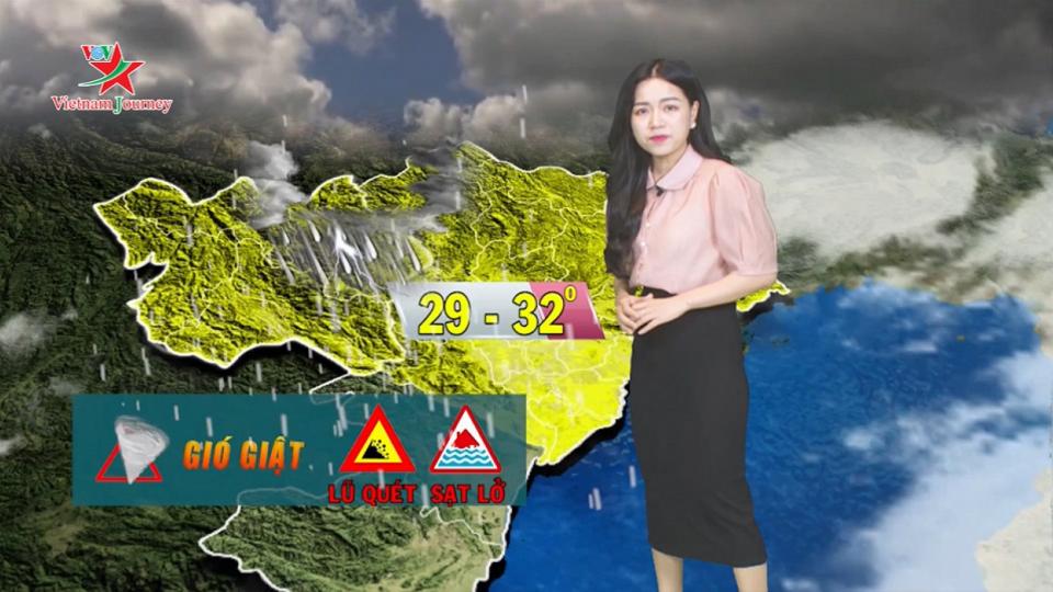 Dự báo thời tiết ngày 2/8   Cập nhật thông tin bão số 3 - bão WIPHA tối nay vào đất liền