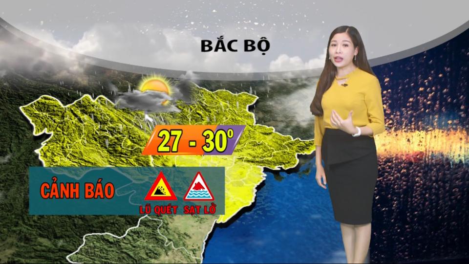 Dự báo thời tiết đêm 3/8 và sáng 4/8/2019