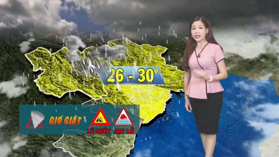 Dự báo thời tiết ngày 4/8/2019