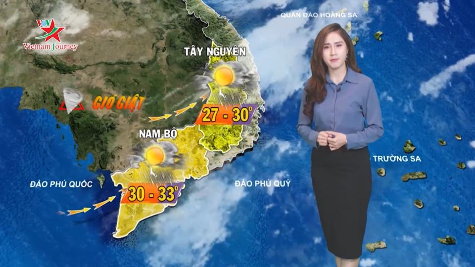 Dự báo thời tiết ngày 8/8/2019