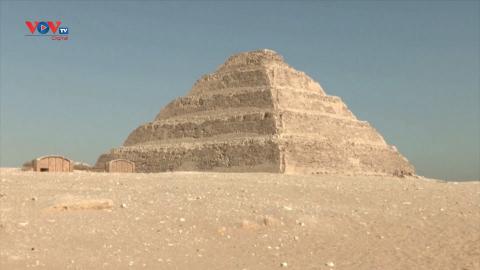 Ai Cập: Mở cửa tham quan lăng mộ cổ 4700 năm của vua Djoser