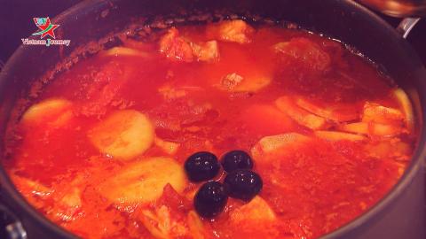 [Ẩm thực Tết bốn phương] Bacalao - Món ăn ngày Tết ở Na Uy