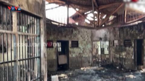 Cháy lớn ở nhà tù Indonesia gây nhiều thương vong