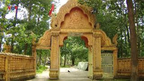 Chùa Nery Vone của người Khmer ở Thới Lai