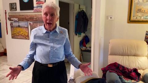 Cụ bà 82 tuổi sẽ bay vào vũ trụ cùng tỷ phú Jeff Bezos