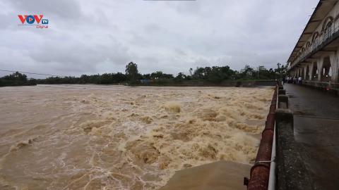 Đà Nẵng: Các hồ chứa đã đầy nước, sẵn sàng ứng phó khi nước lũ dâng cao