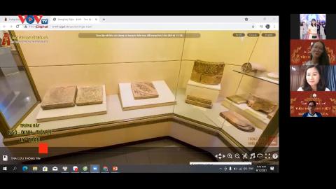"""Độc đáo """"Tourday Online"""" tham quan bảo tàng trực tuyến"""