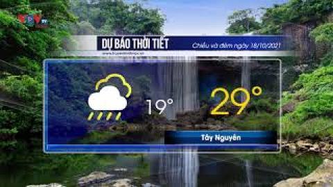 Dự báo thời tiết chiều và đêm 18/10/2021 | Bắc Bộ mưa to