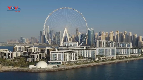 Dubai chuẩn bị khánh thành bánh xe đu quay lớn nhất thế giới