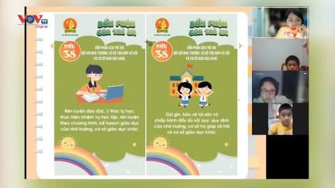 Giáo dục pháp luật trực tuyến trong nhà trường trong mùa dịch