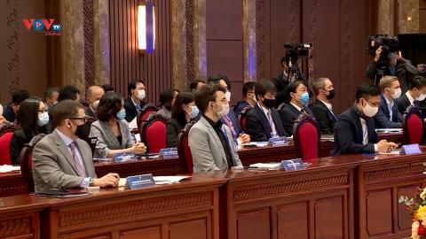 Hà Nội đối thoại tháo gỡ khó khăn cho các doanh nghiệp có vốn đầu tư nước ngoài trong bối cảnh dịch Covid-19