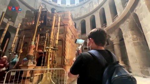 Hai cậu bé Palestine làm Vlog về những di tích lịch sử của đất nước
