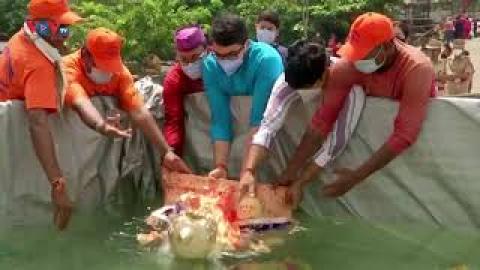 Hàng nghìn người dân Ấn Độ tham gia Lễ hội Thần Voi bất chấp dịch Covid-19