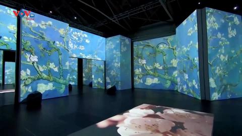 Hơn 6 triệu lượt khách theo dõi triển lãm về danh họa Van Gogh