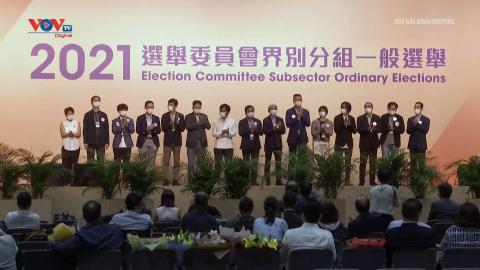 Hong Kong (Trung Quốc) công bố kết quả bầu cử Ủy ban bầu cử Chính quyền Đặc khu năm 2021