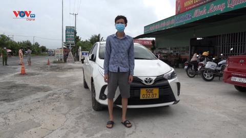 Kiên Giang – Xử lý tài xế chở người từ vùng dịch TP. Hồ Chí Minh về quê