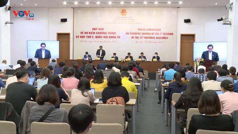 Kỳ họp thứ 2, Quốc hội khóa XV khai mạc ngày mai 20/10