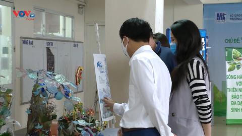 Lan tỏa thông điệp bảo vệ môi trường qua các tác phẩm nghệ thuật