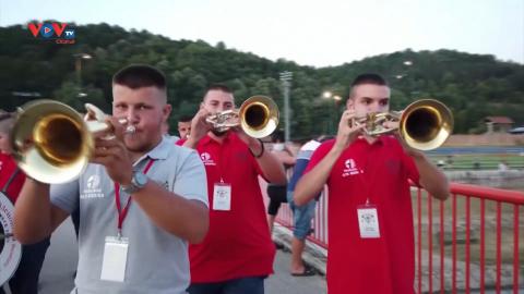 Lễ hội âm nhạc kèn đồng của Serbia quay trở lại