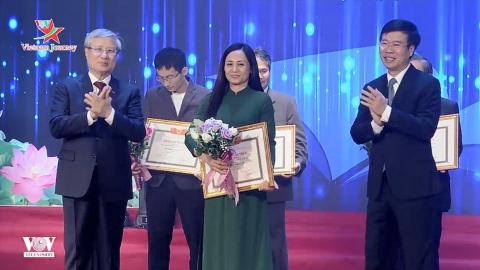 Lễ trao tặng thưởng Các tác phẩm Lý luận phê bình Văn học nghệ thuật xuất bản năm 2019