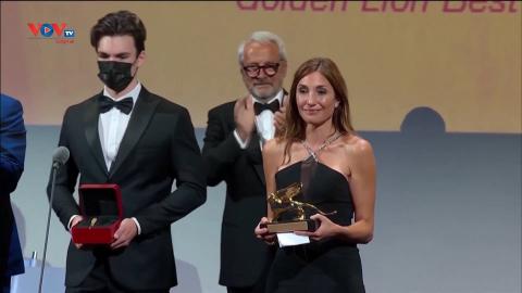 """Liên hoan phim Venice: Phim Pháp """"Happening"""" giành giải Sư tử vàng"""