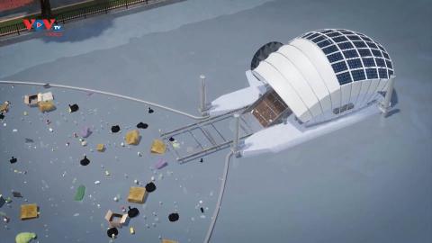 Mỹ: Máy vớt rác thông minh