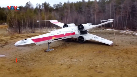 Nga: Sáng tạo mô hình máy bay chiến đấu trong Star Wars