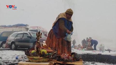 Người dân Bolivia tôn vinh nữ thần Pachamama