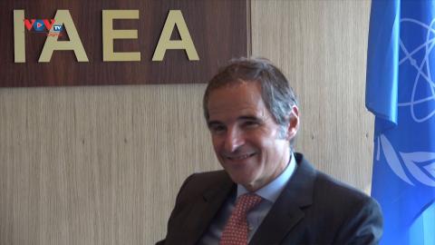 Phỏng vấn Tổng Giám đốc IAEA Rafael Grossi