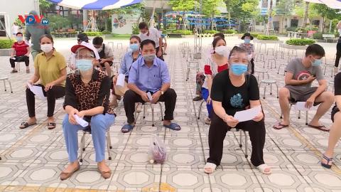 Quận Thanh Xuân (TP. Hà Nội) thành lập trạm y tế lưu động trong vùng dịch