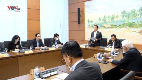 Quốc hội thảo luận về dự án Luật Cảnh sát cơ động và Luật sửa đổi, bổ sung một số điều của Luật Sở hữu trí tuệ