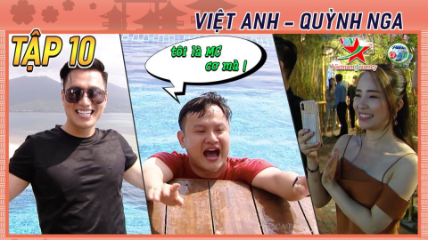 [TẬP 10] Gió đảo chiều kịch tính: Quỳnh Nga - Việt Anh sóng đôi khám phá Đà Nẵng, Hội An