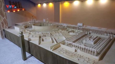 Tái hiện mô hình thành cổ Palmyra ở Syria