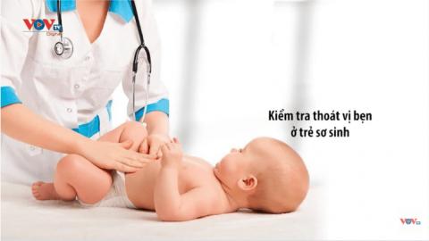 Thoát vị bẹn ở trẻ và cách điều trị
