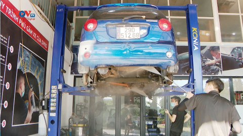 Tìm hiểu lợi ích của việc sơn phủ gầm chống rỉ cho xe ô tô