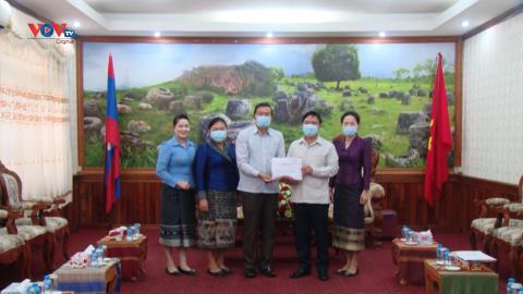 Tỉnh Xiengkhuang (Lào) chung tay hỗ trợ thành phố Hồ Chí Minh phòng chống Covid-19