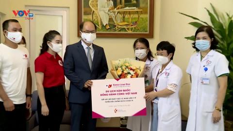 Tổng cục Du lịch Hàn Quốc chung tay cùng các bác sĩ trên tuyến đầu chống dịch