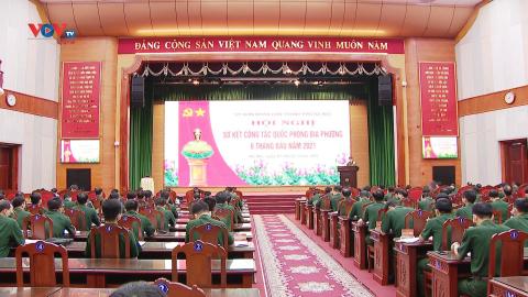TP. Hà Nội sơ kết công tác quốc phòng địa phương 6 tháng đầu năm 2021