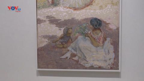 Triển lãm các tác phẩm lần đầu tiên trưng bày bên ngoài nước Nga